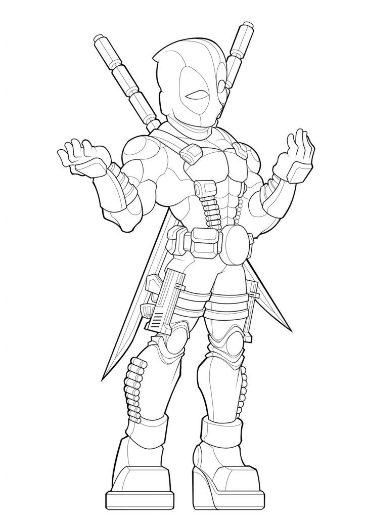 Coloring Rocks Chibi Coloring Pages Cute Sketches Spiderman Coloring
