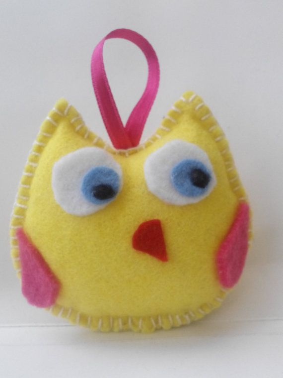 felt owl christmas ornament от linaantoniou на Etsy
