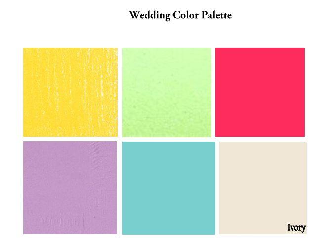 Summer Color Scheme Home Decoration