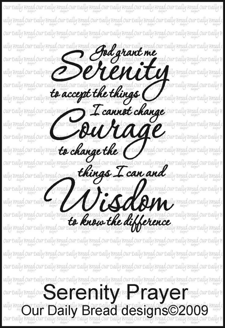 Showing post & media for Serenity prayer designs | www ...