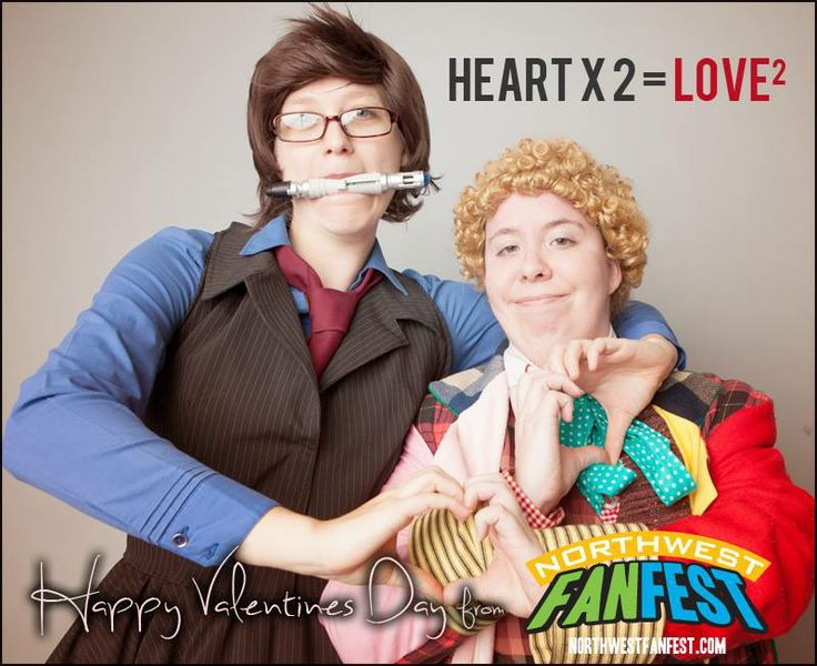Happy Valentine's Day!  #doctorwho  #nwff2014