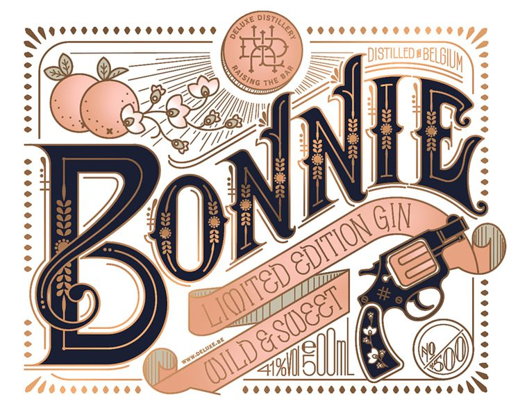 Bonnie & Clyde on Packaging of the World - Creative Package Design Gallery