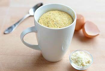 Recept voor Mug Cake met Citroen, Maanzaad en Amandel   Solo Open Kitchen