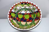 Fran Dibble Colourful Ceramic Bowl