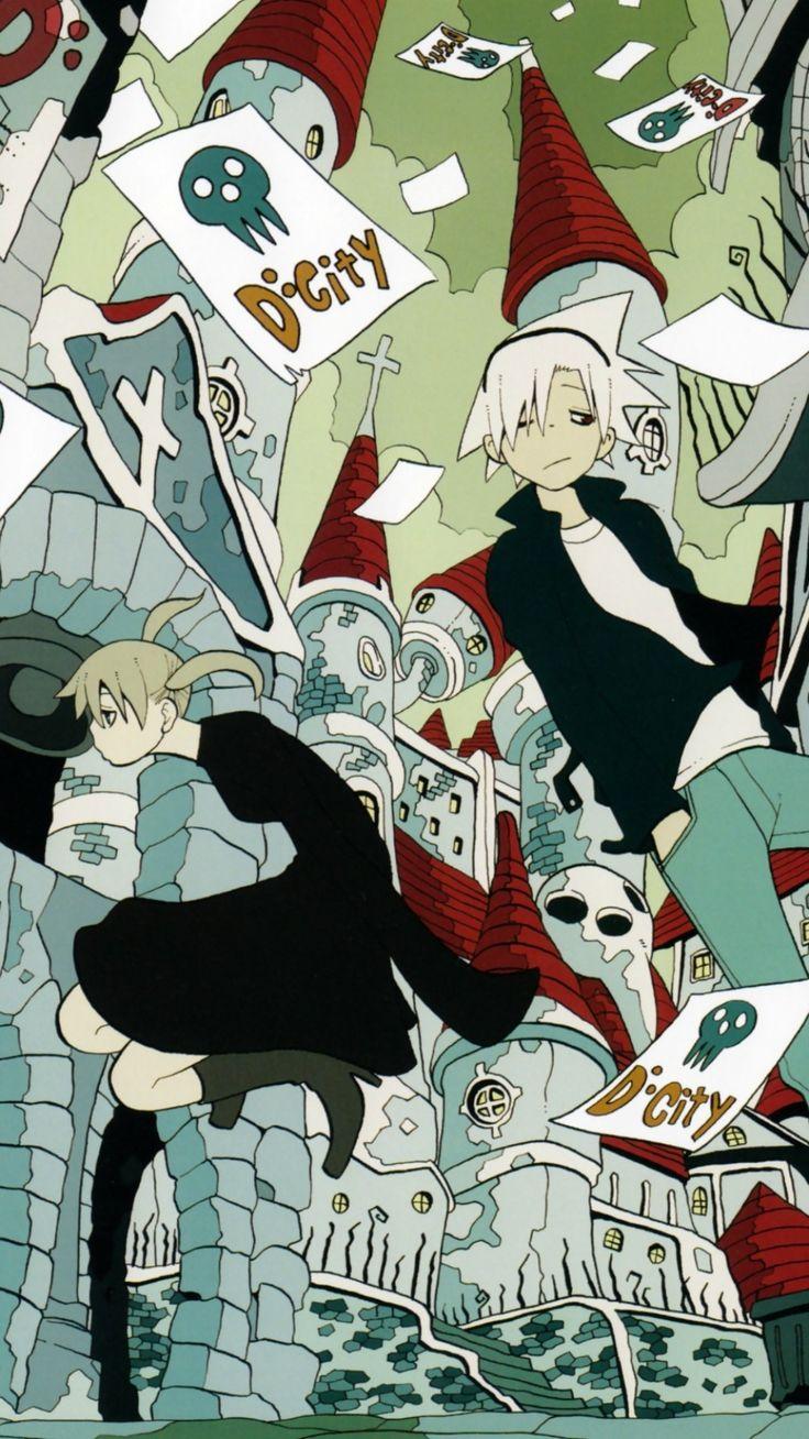 Soul Eater Wallpaper in 2020 Anime soul, Anime, Android
