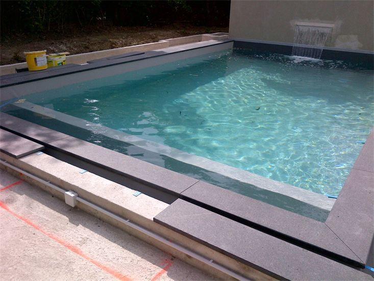 17 meilleures images propos de piscine sur pinterest for Piscine carree miroir