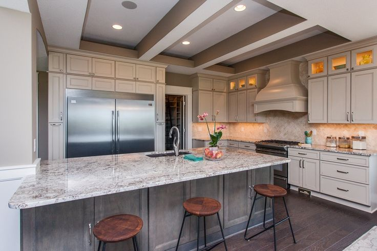 1000 Ideas About White Granite Kitchen On Pinterest