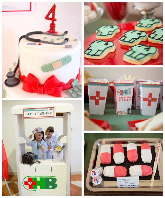 Doctor Themed Birthday Party via Kara's Party Ideas | KarasPartyIdeas.com (1)