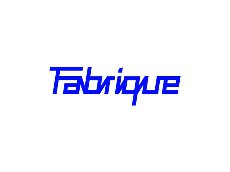 Fabrique logo by Tomas Kopecny