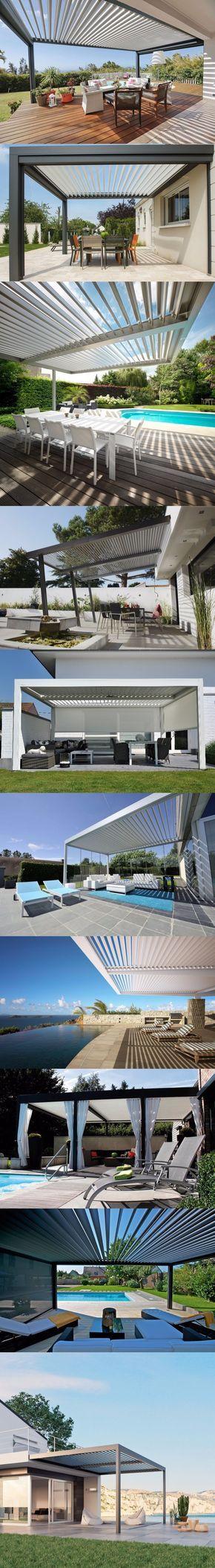 Disfruta tu terraza con una pérgola bioclimática / https://proyectos.habitissimo.es