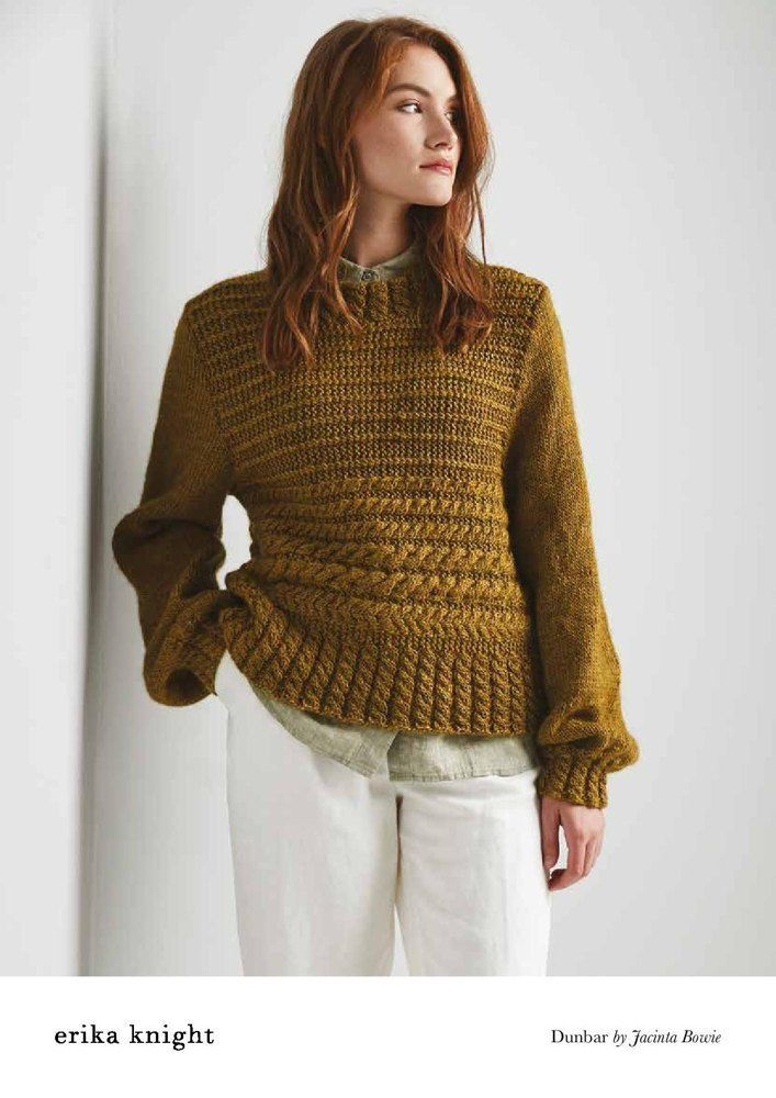 0bae7177b Dunbar Sweater in Erika Knight Wild Wool - 72001105 - Downloadable PDF  Knitting Pattern
