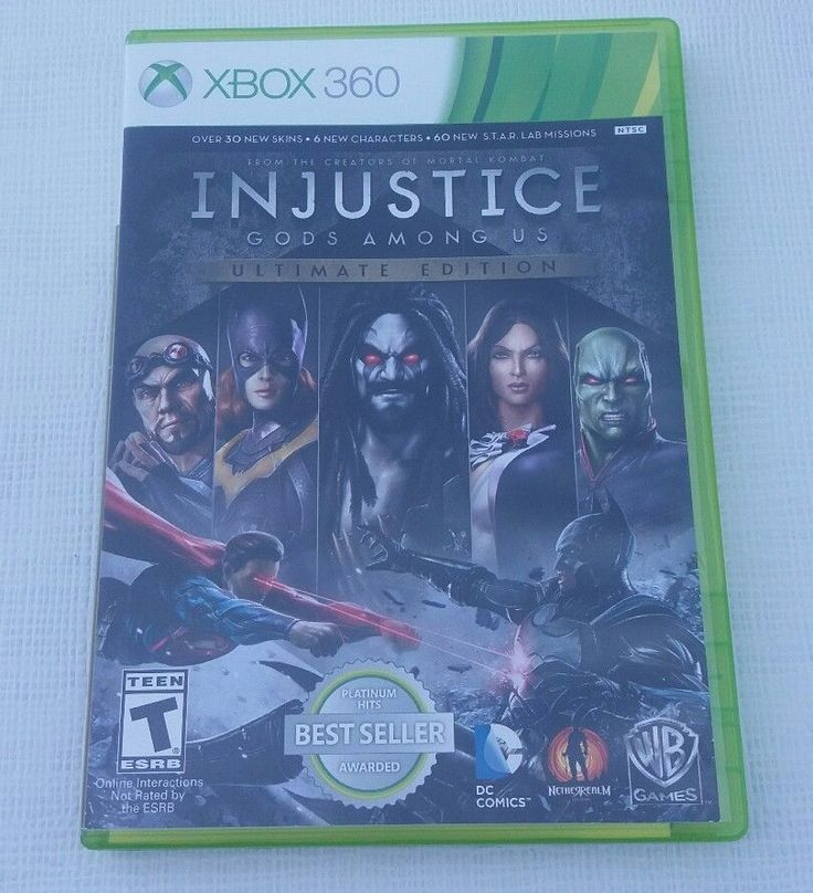 Injustice: Gods Among Us - Ultimate Edition - Xbox 360 Game | Video Games & Consoles, Video Games | eBay!