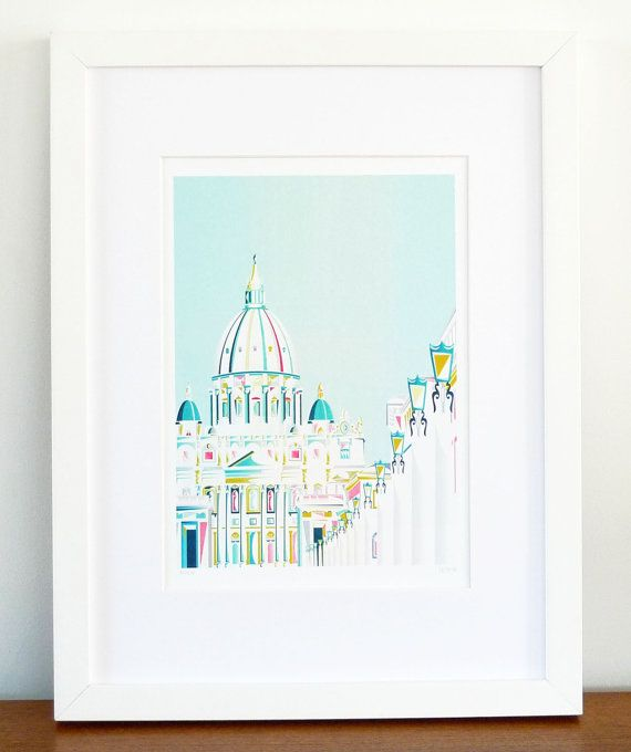Vatican Rome by lauraamiss on Etsy, €10.00