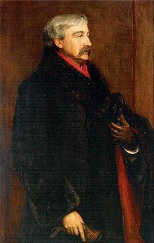 Portrait of Bret Harte by John Pettie 1884