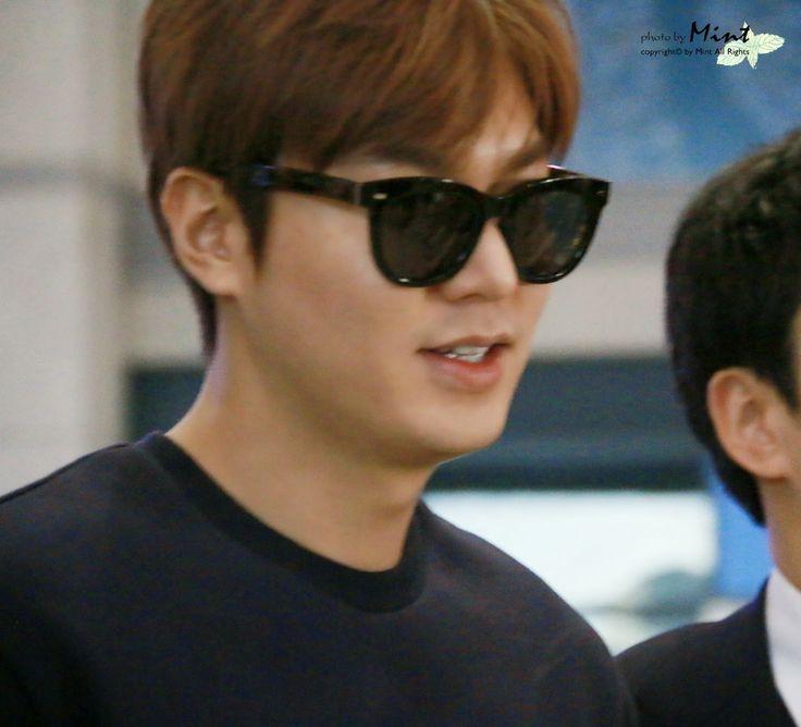Lee Min Ho Arrival, Incheon International Airport- 25.04.2015