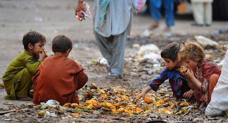 The poor people in Pakistan can be provided monthly food free of ...