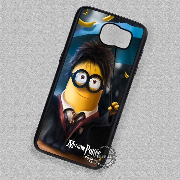 Minion Harry Potter Cartoon - Samsung Galaxy S7 S6 S5 Note 7 Cases & Covers