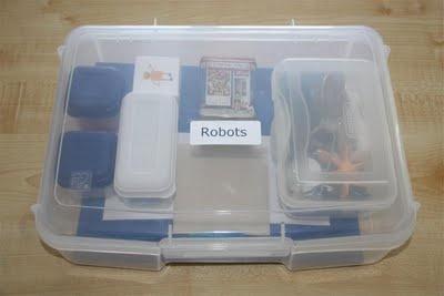 mini unit - robots