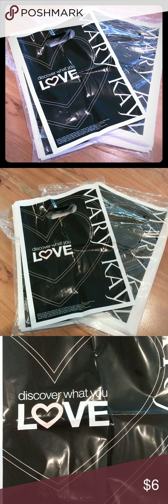 Mary Kay Small Bags + More 175 small Plastic Bags, 10 - 2015 Catalogs, 15 customer profile cards, 100 order forms, 20 intake cards, 1 money bag, 1 car decal, 1 foundation finder tool, 35 disposable trays, 10 Beauty Books, 1 Mary Kay Ash Bio, 20 Set Menus, 3 Specialty Set Menus, 2 Instructors guides, 6 Beginner magazines, 2 Start something beautiful discs and 1 stop doubting start dreaming disc. I love my MK business, all these tools are ones I no longer use! Also includes two hostess…