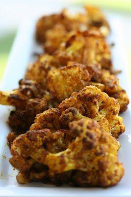 V e g a n D a d: Roasted Curry Cauliflower