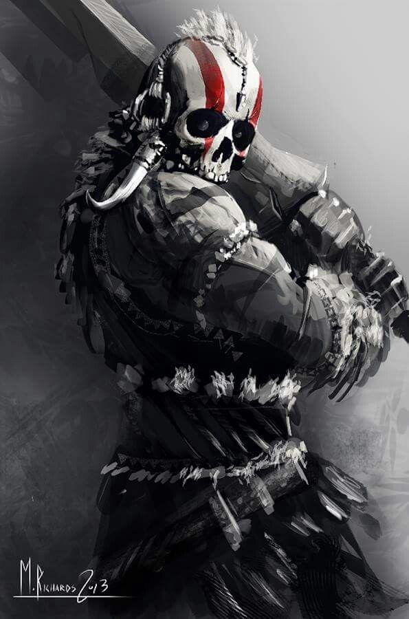 SkullMaster a.k.a. Headhunter or Executioner | Tribal ...