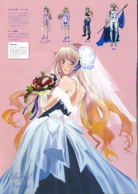 Satelight, Macross Frontier, Sheryl Nome, Character Sheet