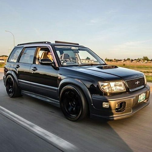 Subaru Forester SF5 Fender Flares                                                                                                                                                                                 More
