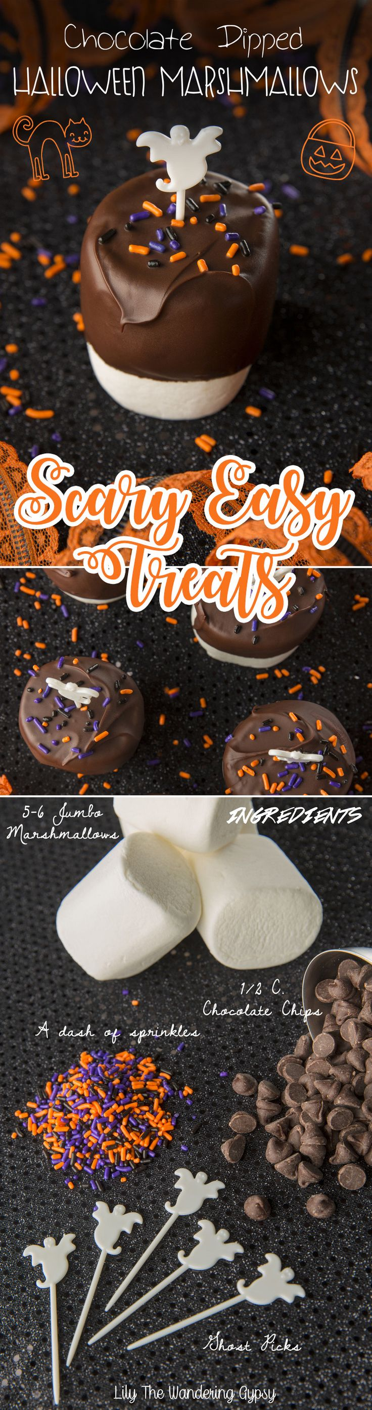 Super Easy Halloween Treats! Check them out :)