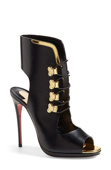 Christian Louboutin \u0026#39;Troubida\u0026#39; Lace-Up Sandal available at ...