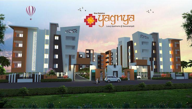 SreeDaksha's YAGNYA, Luxury apartments for sale @ Saravanampatty, Coimbatore
