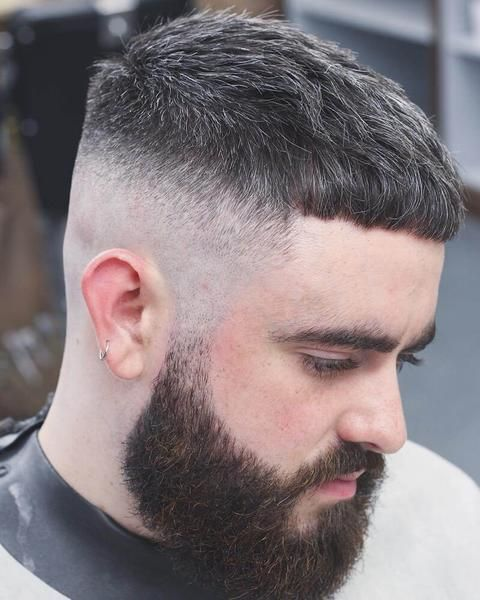 Crop Haircut For Men What Is It How To Style Beards Etc