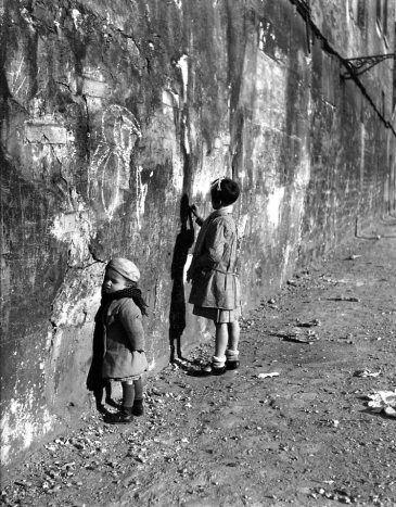 """Robert Doisneau. """"La premiere maitresse,"""" Paris, 1935"""