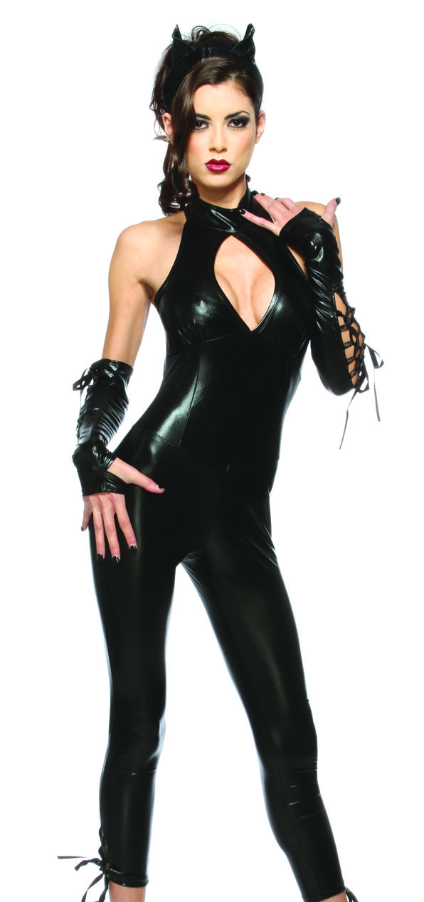 Cute sexy black dresses-2867