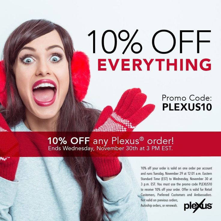 Just a few more hours to save 10% on your plexus supplements!!!!!   This is HUGE!!!!  Don't miss out!  Click this link here to learn more and to place your order!!   https://backoffice.plexusworldwide.com/stephanieh/media/shareables/november-2016-sale-3-shareable.html