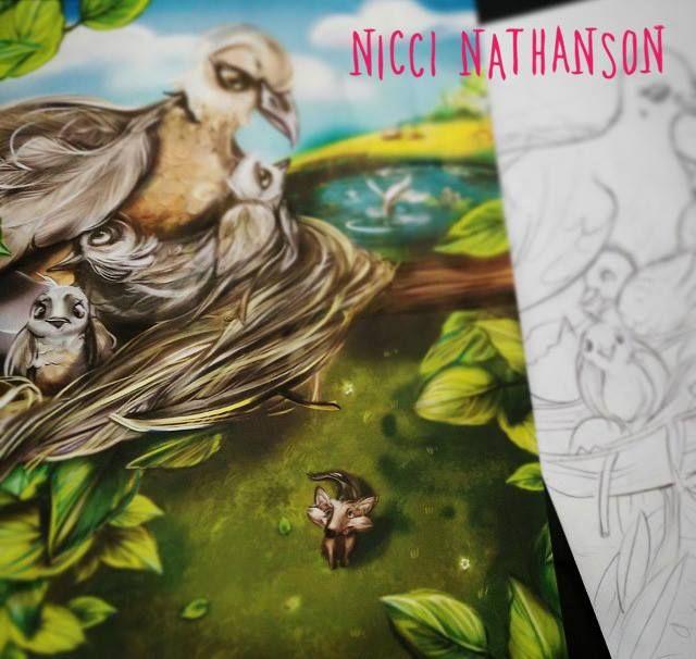 Children's book illustration by Nicci Nathanson www.niccinathanson.com