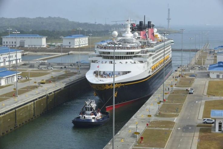 first cruise ship expanded panama canal