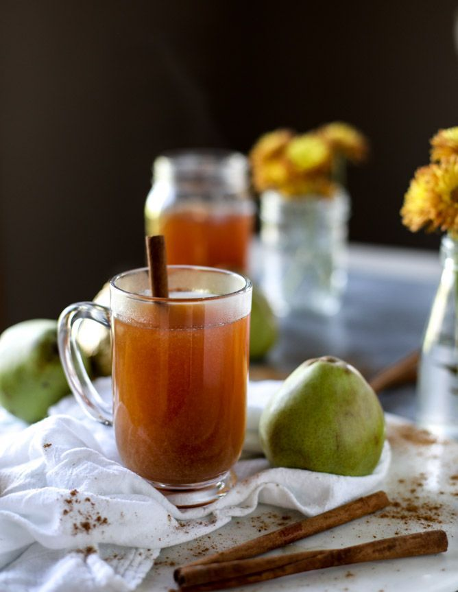 homemade pear cider I http://howsweeteats.com