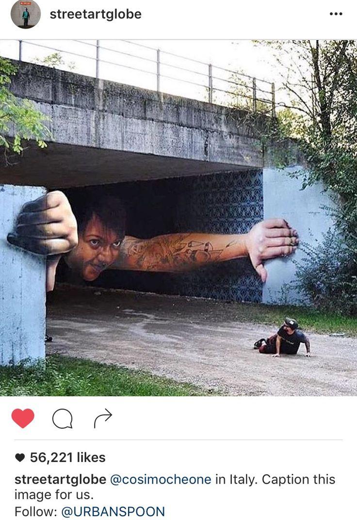 Street art. Woa