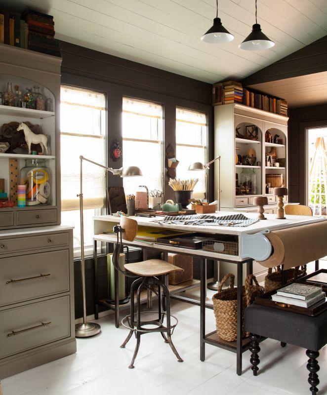 Mesas de estudio  Craft room