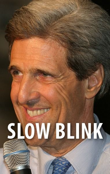 """Secretary of State John Kerry was recently filmed sleeping at a news conference in Polan, or as he put it, taking a """"really long blink."""" http://www.recapo.com/today-show/today-show-news/today-john-kerry-long-blink-get-airport/"""