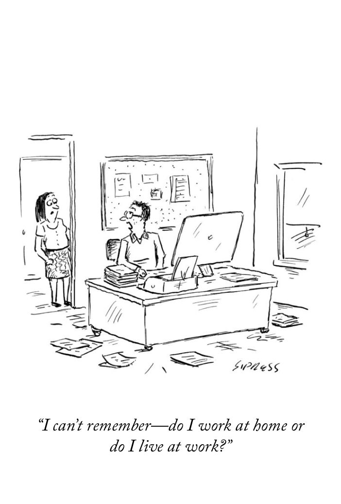 Best Job For Working Moms: A Cartoon From The New Yorker Https://www.newyorker.com