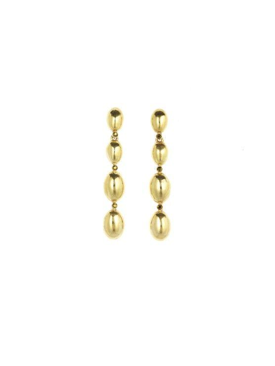 b84644bb1 Dot Drop Earrings from Oscar De La Renta | Jewellery | Earrings ...