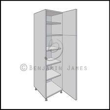 Kitchen Carcass Unit - Tall Larder Cabinet 2150 High - 18mm Back - 100 Colours!