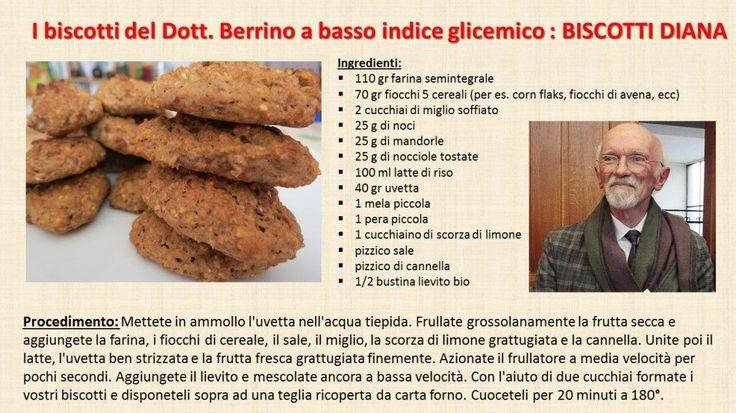 Dott.ssa Chiara Angiari | RICETTA BISCOTTI DIANA PROF. BERRINO