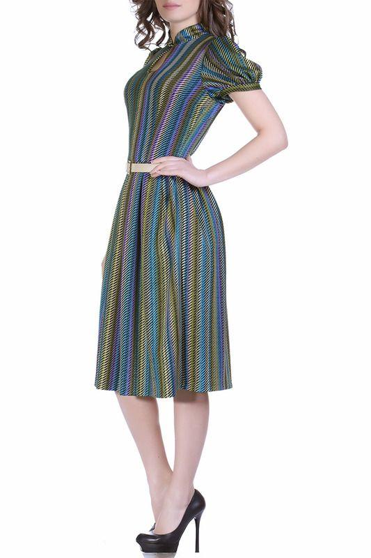 Купить Платье Olivegrey PL000181V(NENSY) БИРЮЗОВО-ЖЕЛТЫЙ со скидкой в интернет-магазине kupivip.ru - распродажа