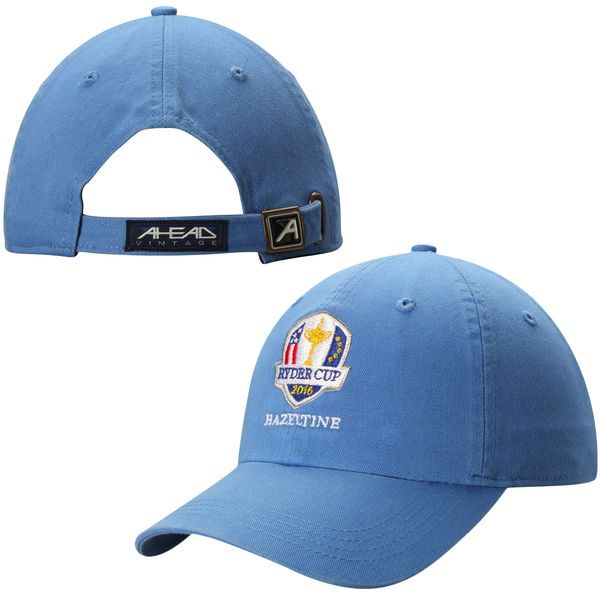 2016 Ryder Cup Classic Solid Adjustable Hat – Royal Blue - $18.74