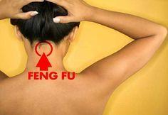 A medicina tradicional chinesa fez uma grande descoberta de grande utilidade para qualquer pessoa! Descobriu um ponto do nosso corpo que quando é estimulado promove um bem estar geral. Este ponto chamado de Feng Fu, é um ponto de pressão que se situa atrás da cabeça, na base do crânio, na parte superior do pescoço.