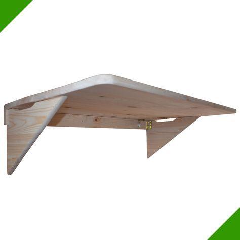 85cmx50cm Table murale pliante, murale rabattable en bois, Table de balcon neuf | eBay