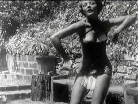 This early 1951 short footage features Sheree North--long before she became famous--dancing in a one-piece swimsuit and a pair of cat's ears...
