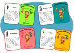 Production d'écrit - Mes cartes à conter !